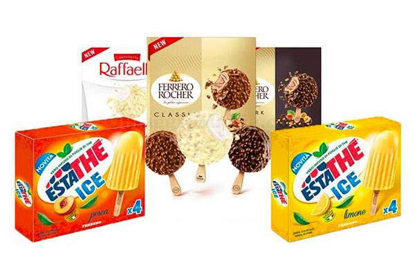 Ferrero sbarca nei gelati